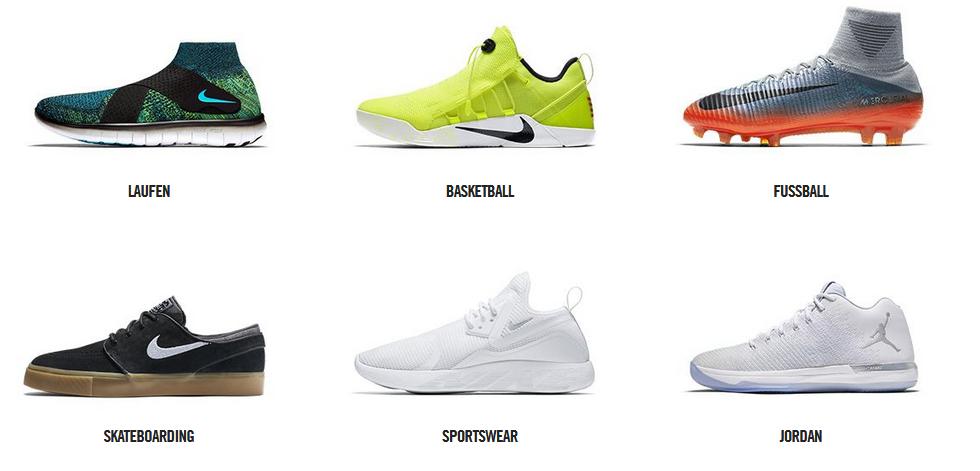 Nike Sportschuhe kaufen